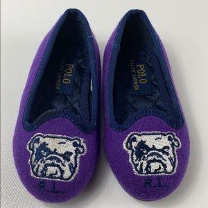 Ralph Lauren Purple Loafers size 5